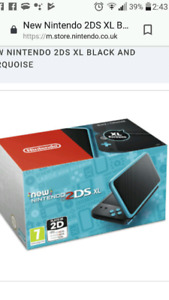 Looking for original 2ds blue/black flip box