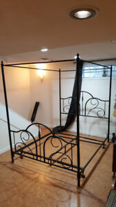 Queen Size Canopy Bed Frame for sale!