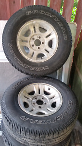 Ford ranger rims and tires, ford aluminum rims