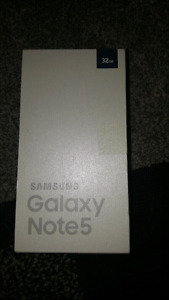 Samsung Galaxy Note 5 mint new in box