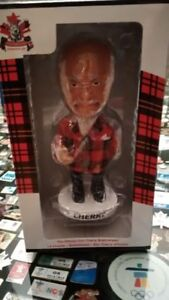 4 NEW HNIC Don Cherry & Bobby Orr Hard Cover Book Bobblehead