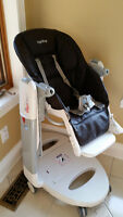 Tatamia Brown Leather High Chair- Used