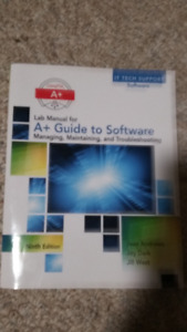 A+ Guide to Software 9th Edition / Book and Lab Manual