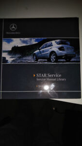 MERCEDES REPAIR DVD - MODEL 164 MERCEDES-BENZ ML AND GL CLASS