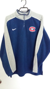GILET CANADIENS  POLAR XL $15.00