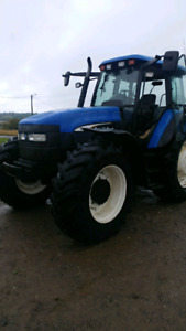Tracteur New Holland TM-155