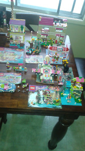 7 Lego friends play sets complete 5 with instructions
