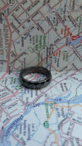 Black Magnetic Hemorite Ring size 10