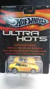 HOT WHEELS ULTRA HOTS 67 CAMARO CONVERTIBLE REAL RIDERS DIE CAST