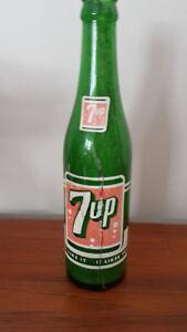 Vintage 7UP bottle