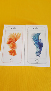 Two Unlocked iPhone 6s 64GB