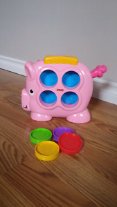 Fisher Price Toddler Piggy Bank toy