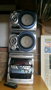 Pioneer compact shelf stereo system