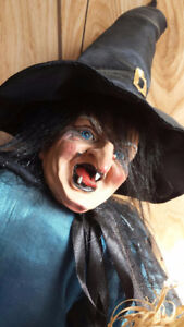 Creepy Witch Figure for Halloween