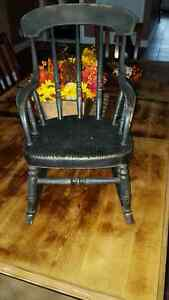 Childs Solid Wood Antique Rocking chair