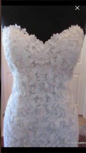 Fit & Flare Wedding Dress size 12