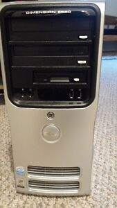 Dell Dimension E520 with Monitor and Speakers