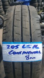 205 65 16 MATCHING CONTINENTAL TYRES X4 £120 INC FIT N BAL OPEN 7 DAYS