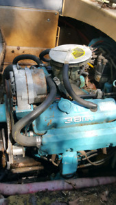 omc 6 cylinder 3.8  and drive