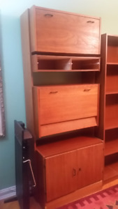 Book shelf and Wardrobe both complete