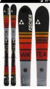 Ensemble de ski de haut-route  Fisher Watea et bottes Scarpa