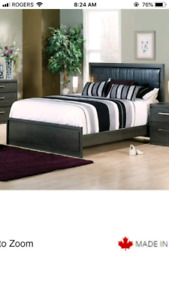 Queen Bed frame, Mattress and Box spring