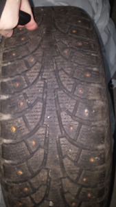 Looking to Trade - 215/60R16 studded for 205/55R16
