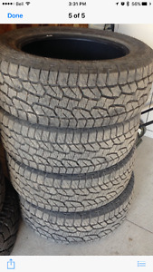 "New Hankook Dynapro 20"" tires"