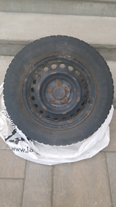 15 inch Black mags with Kumho tires 195 65 15