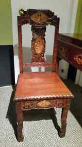 Chinese antique desk and chair. Cornwall Ontario image 9