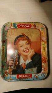 Plateau cabaret coca cola vintage