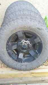 """Rockstar II 18"""" Wheels with Toyo Open Country A/T II Extreme"""