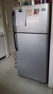 Almost like new fridge. Plus sofa set. Plus tv Moving sale