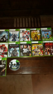 Xbox 360 with over 10 games