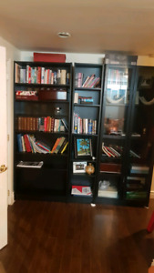 Ikea bookcases