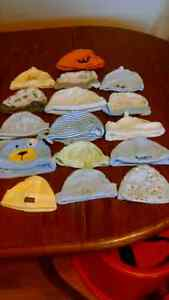 16 baby hats