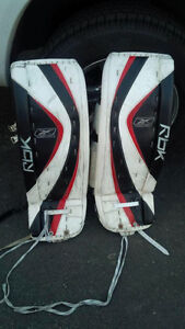 Reebok Goalie Pads, Blocker and Glove