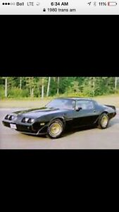 Trans am wanted