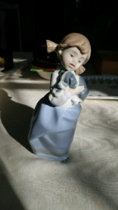 "Lladro 1987 ""NAO"" Hand-Crafted Porcelain from Spain"