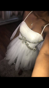 Robe de sortie - robe de bal - robe marriage blanc