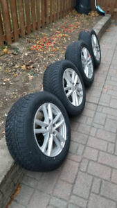Winter tires and rims 195/65/15