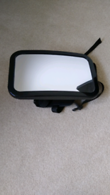 Back seat baby mirror for car