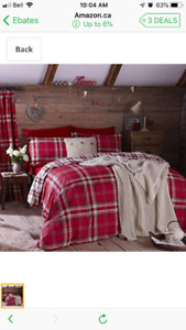 Queen size duvet and pillowcases for sale