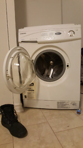 stackable washer dryer samsung apartment size washer dryer