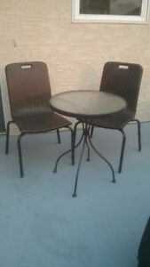 Patio Furniture - Table & 2 Chairs