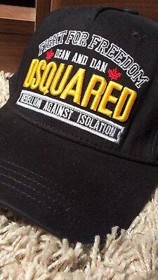 ****2017 NEW Dsquared2 BLACK Baseball Cap***Limited Edition RARE 2017 Stock