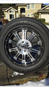 XD SERIES KMC RIMS AND GRABBER TIRES