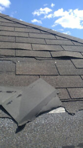 WE SPECIALIZE IN SHINGLES - ROOF / ROOFING REPAIRS