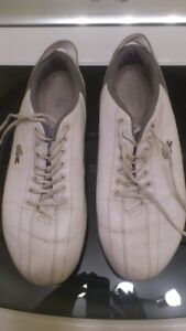White Lacoste shoes (size 12)