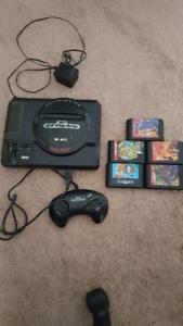 Sega Genesis + Games